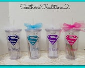 Teacher Tumbler Gift - I teach, what's your superpower