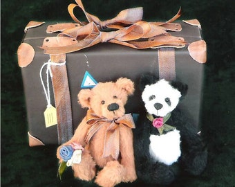 Teddy Bear PDF Downloadable Sewing Pattern Riley and Rose