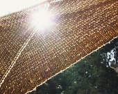 Shawl Knitting Pattern / Chunky Diamond Textured Knit / Diamants / PDF Digital Delivery