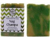Nag Champa Hemp Soap - Vegan