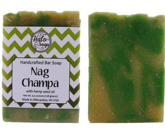 Nag Champa Hemp Soap - Vegan