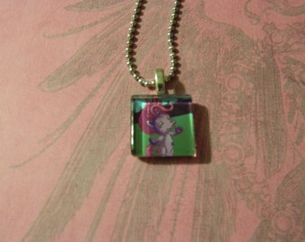 The Zelfs Howlette Glass tile Necklace