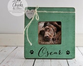 Personalized Pet Picture Frame, Pet Name Frame, Pet Lover Gift Idea