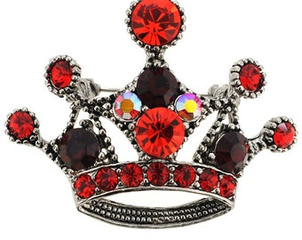Red Crown Pin 1000591