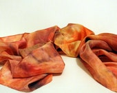 Lord of the Rings Inspired Silk Scarf  - Hobbit Inspired Scarf - Rivendell - Hand Dyed Scarf or Waldorf Playsilk