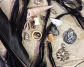 Custom Black ans Silver Ribbon for Sparkles