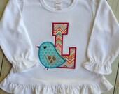 Sweet Tweet Initial Shirt