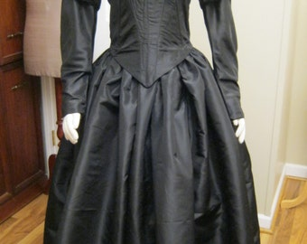 1840 Victorian Dress(Example)