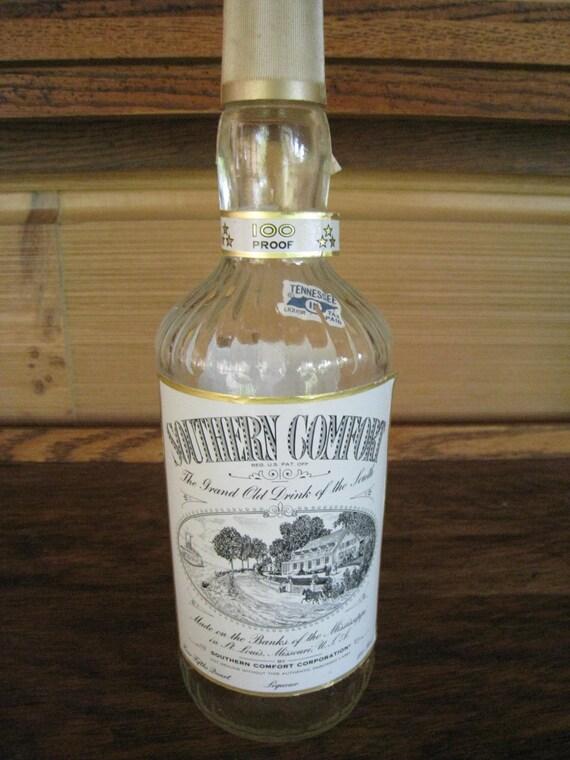 Vintage Southern Comfort Bottle