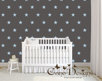 Large Size Stars Sets, Vinyl wall decals stickers