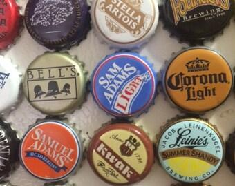 6-Pack of Beer Bottle Cap Magnets
