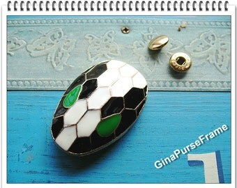 Snake purse lock  Bag lock for handmade purse bag box wallet closure -1set (purse metal frame)