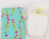 Blue Bird Bunting Travel Changing Pad