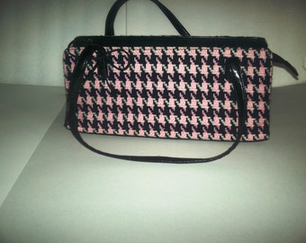 Vintage 1980's plaid purse