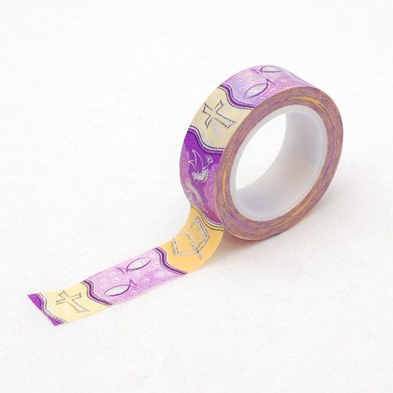 Religious Washi tape - Christian symbols masking tape - Love My Tapes
