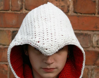 Assassin's Creed Cowl Crochet Pattern