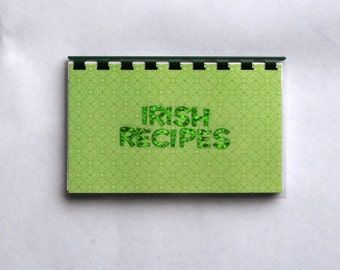 Handmade Irish Recipes Blank Recipe Book
