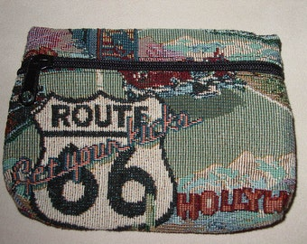 ROUTE 66  Make-Up Bag