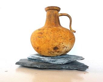 Vintage Jug Vase Rusted Art