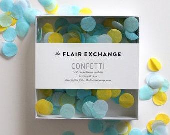 Hand-Cut Confetti - Poolside