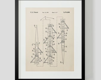 8 Man Rowing Shell Scull Patent Print