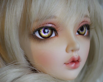 BJD eyes Doll eyes Hand made available in 12/14/16/18/20/22/24mm Hummingbird Kiss made to order