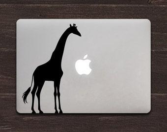 Giraffe Vinyl MacBook Decal BAS-0296
