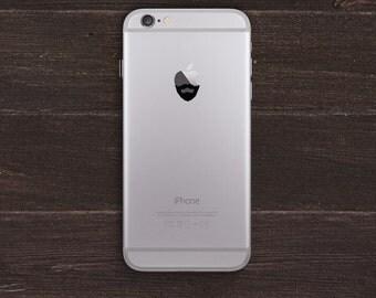 Bearded Apple Vinyl iPhone Decal BAS-0287