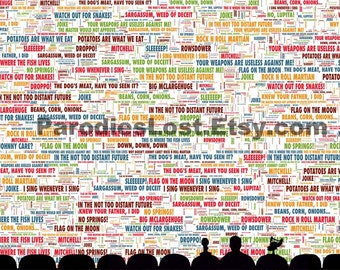 """MST3K Quote POSTER Mystery Science Theater 3000 Great Sayings 13x19"""""""