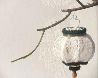 Wedding Ornaments, Lace Shabby chic Wedding Decor, Home decor, Lace ornament Wedding decor. Wedding Favors.