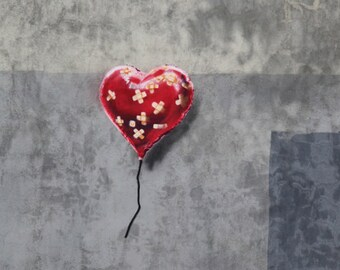 Banksy Print  - Band Aid Heart - Multiple Paper Sizes
