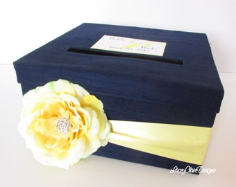 Wedding Card Money Box - You customize colors and embellishments
