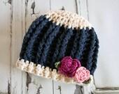 Crochet Hat Pattern, Baby Girl Crochet Hat Pattern, Baby Girl Pattern, Newborn Girl, Photo Prop, Crochet Pattern, Pattern,