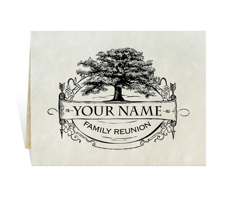 Family Reunion Invitation With Enough Space For Schedule