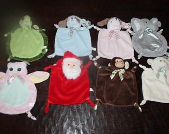 blanket, baby blanket, mini mini  blanket, personalized animal blankets