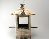 Bird Feeder-Pottery-Rusti...