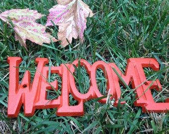 Cast Iron Wall Decor, WeLCoMe Sign, HarDWAre IS inCLUded