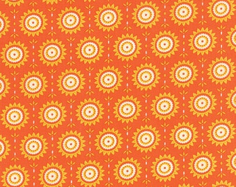 Fancy - Sunny in Orange Spice by Lily Ashbury for Moda Fabrics