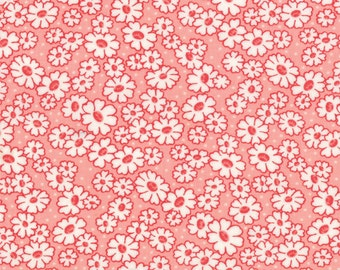 30's Playtime - Simple Daisy in Betty's Pink by Chloe's Closet for Moda Fabrics
