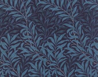 Best of Morris - Willow Boughs in Indigo by Barbara Brackman for Moda Fabrics