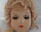 Vintage Candy Fashion Doll Vintage Composition Doll Head