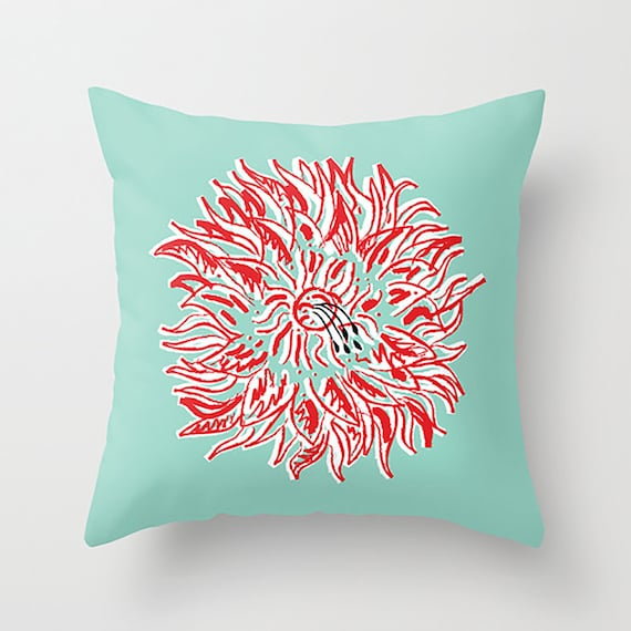 "Plant Lyfe - Throw Pillow / Cushion Cover (16"" x 16"") iOTA iLLUSTRATION"