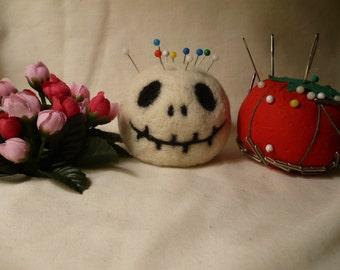 Freaky Skull Pincushion, Halloween or Just Plain Fun