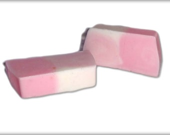 Raspberry and vanilla scented soap