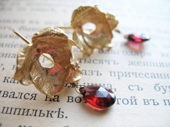 Earrings 'La Vie en Rose'