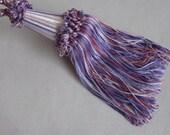 Drapery TIEBACK Purple Pink Pearl - price is for ONE tieback