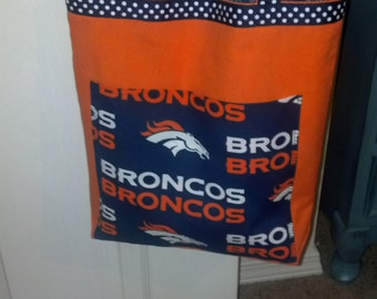 Denver Broncos Tote Bag/Purse