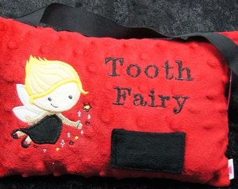 TOOTH FAIRY PILLOW/gift/children/baby teeth/children teeth/tooth fairy