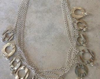Many Circles Necklace