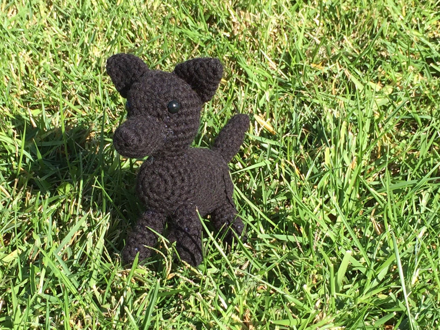 German Shepherd dog crochet pattern PDF. English USA |Crochet German Shepherd